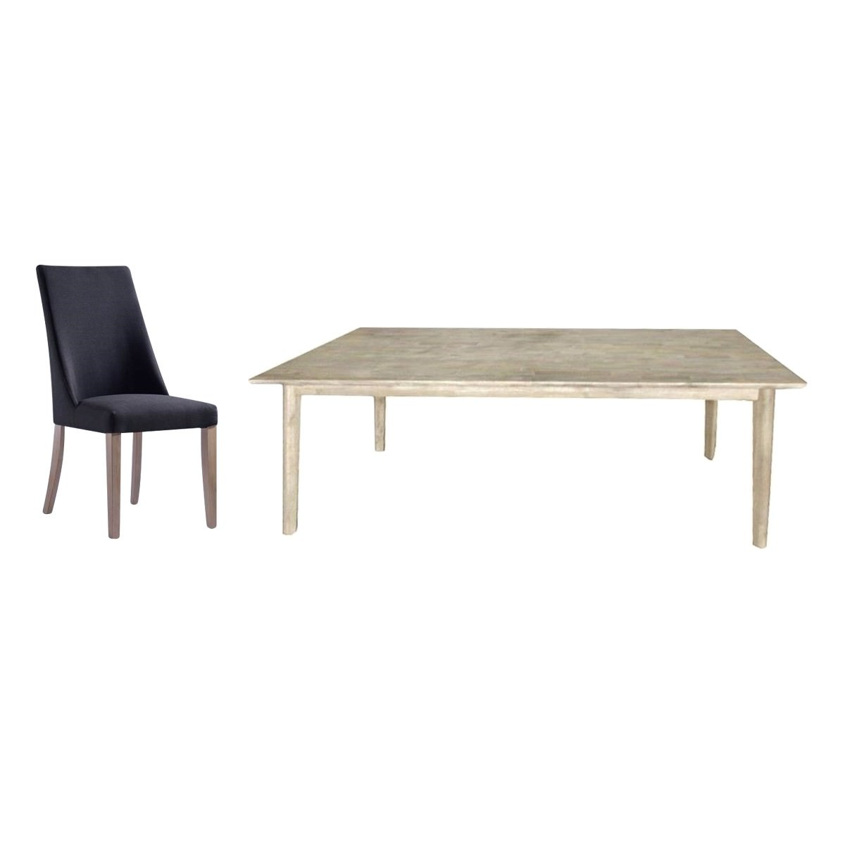 Clyde & Blandford 9 Piece Acacia Timber Dining Table Set, 210cm