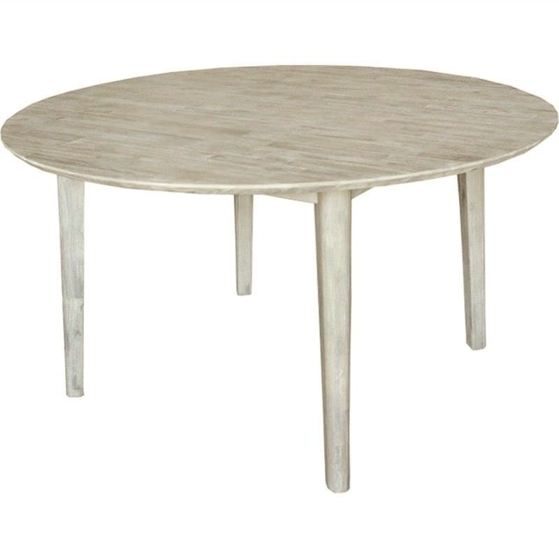 Clyde Solid Acacia Timber 120cm Round Dining Table