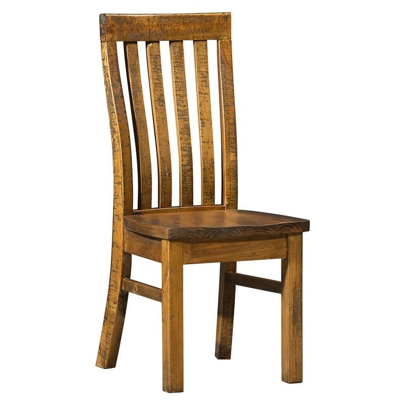 Astwood Distressed Pine Timber Dining Chair