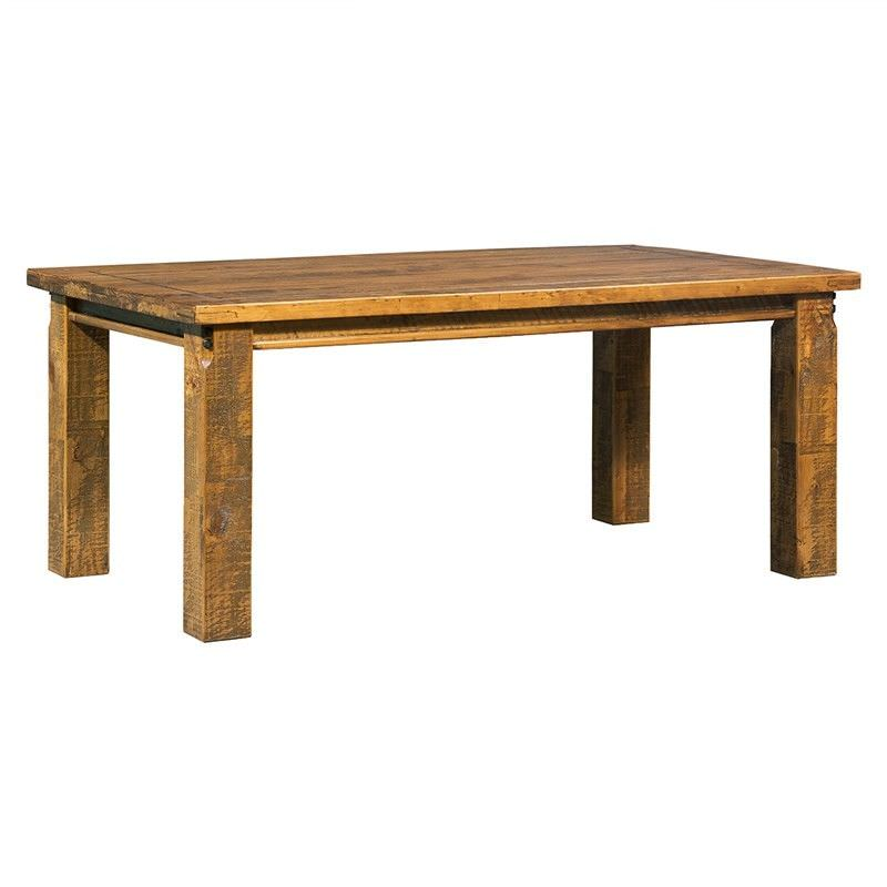 Astwood Distressed Pine Timber 180cm Dining Table