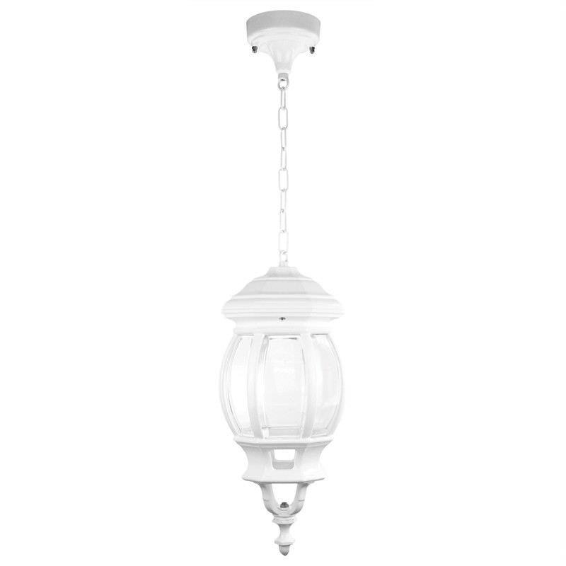 Italian Made Vienna Aluminium IP23 Exterior Pendant Light - White