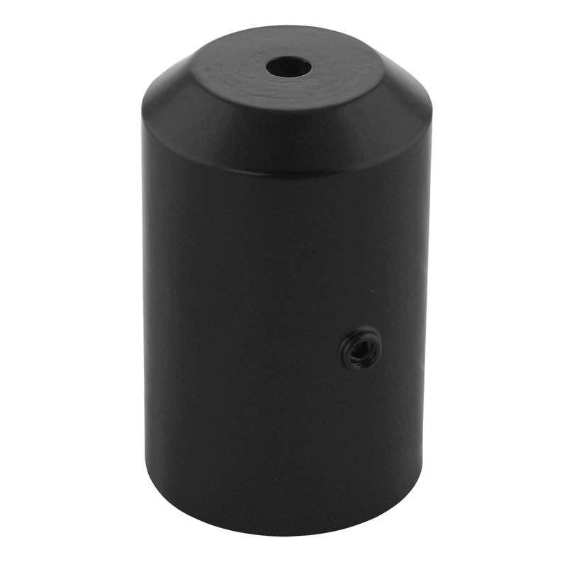 Large Replacement Post Lantern Adapter - Black