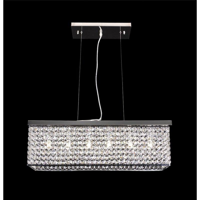 Rainbow-60 Crystal LED Pendant Light