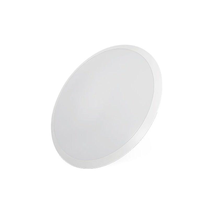 Domino LED Oyster Ceiling Light, White