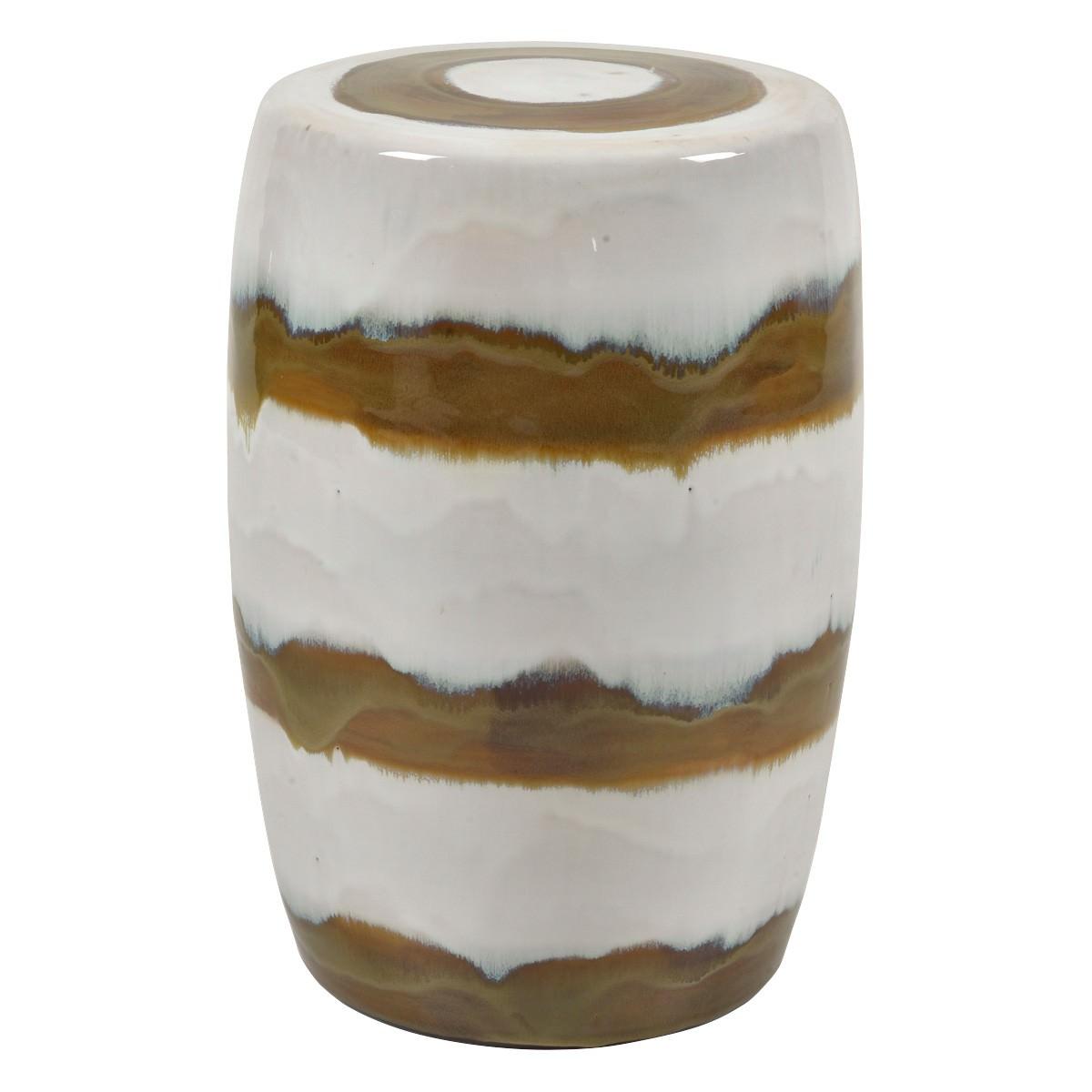 Arizona Ceramic Drum Stool
