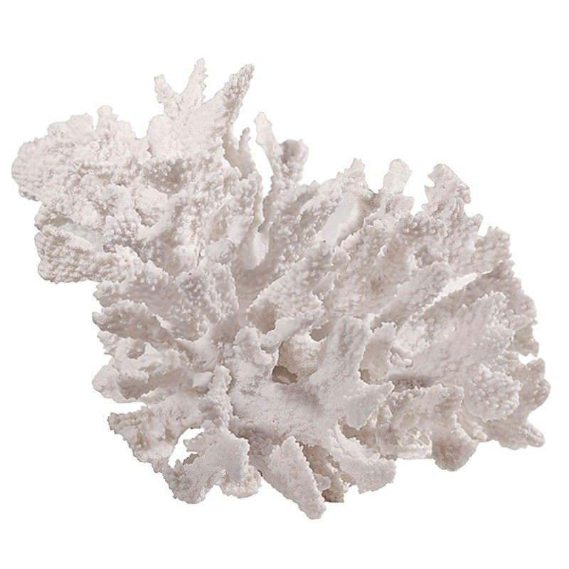 Estee Large Classic Coral Decor - White