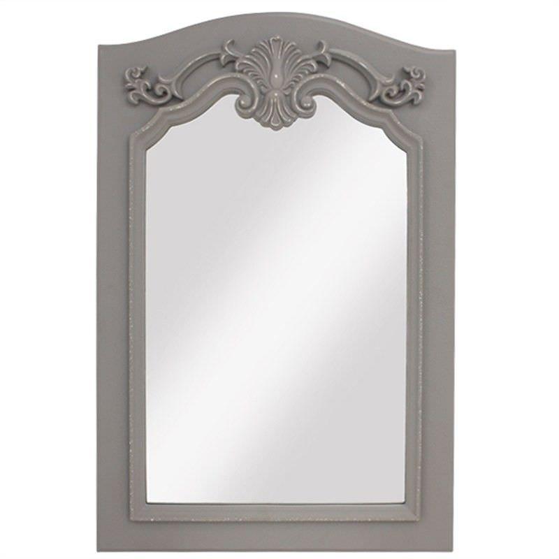 Tara Polyresin Vintage French Wall Mirror