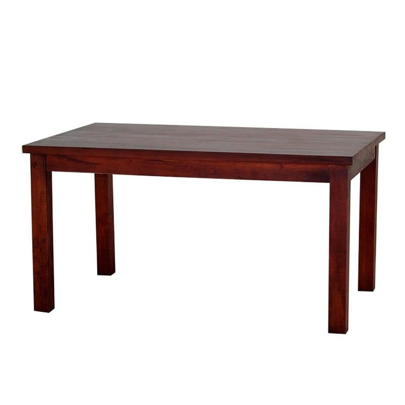 RPN Solid Mahogany Timber 150cm Dining Table - Mahogany