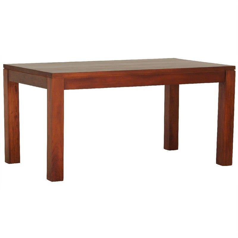 Amsterdam Solid Mahogany Timber 150cm Dining Table - Mahogany