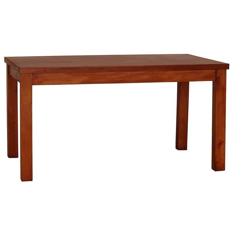 RPN Mahogany Timber Dining Table, 180cm, Light Pecan