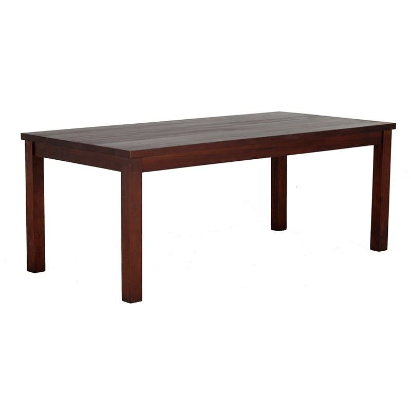 RPN Mahogany Timber Dining Table, 200cm, Mahogany