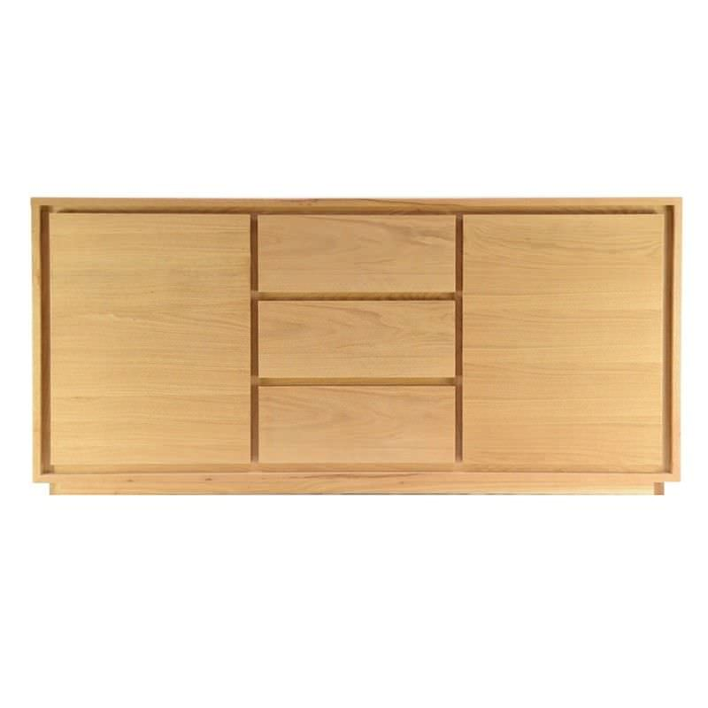 Bain Solid Timber 2 Door 3 Drawer 150cm Buffet Table