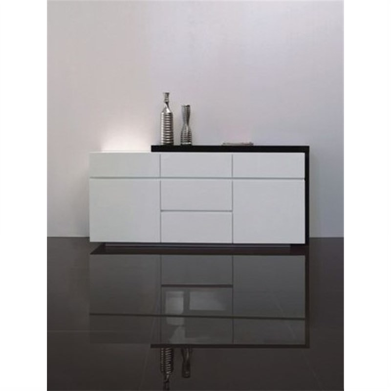 Enzo Buffet Unit in Black and White