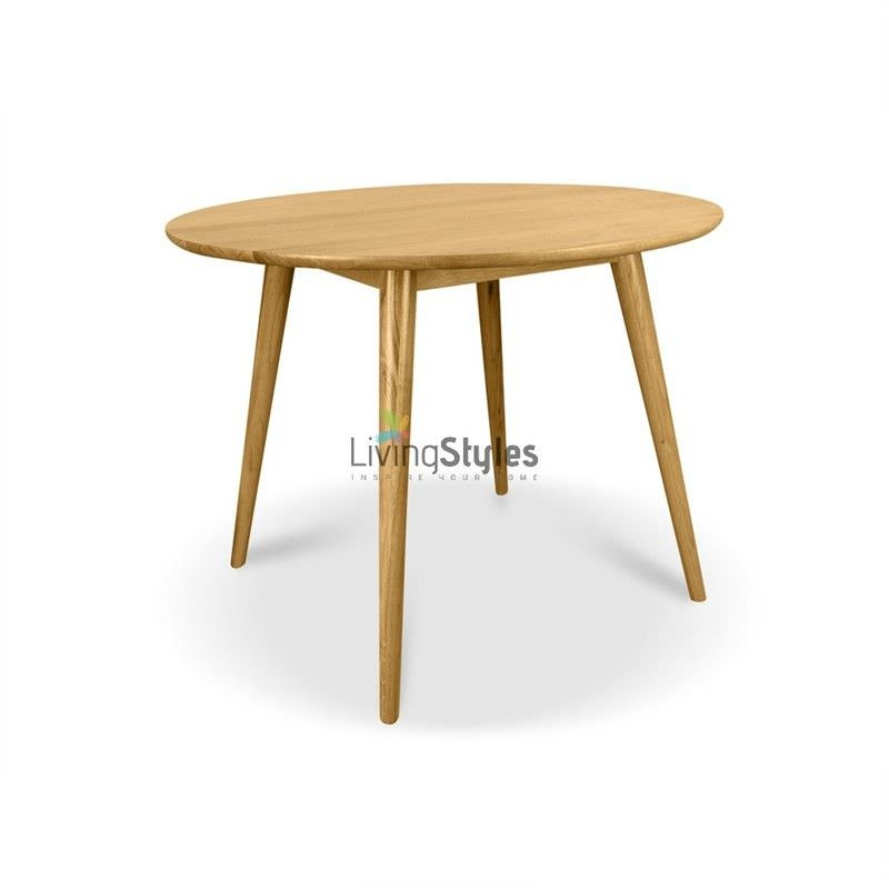 Kiwi 100cm Round Dining Table - Natural