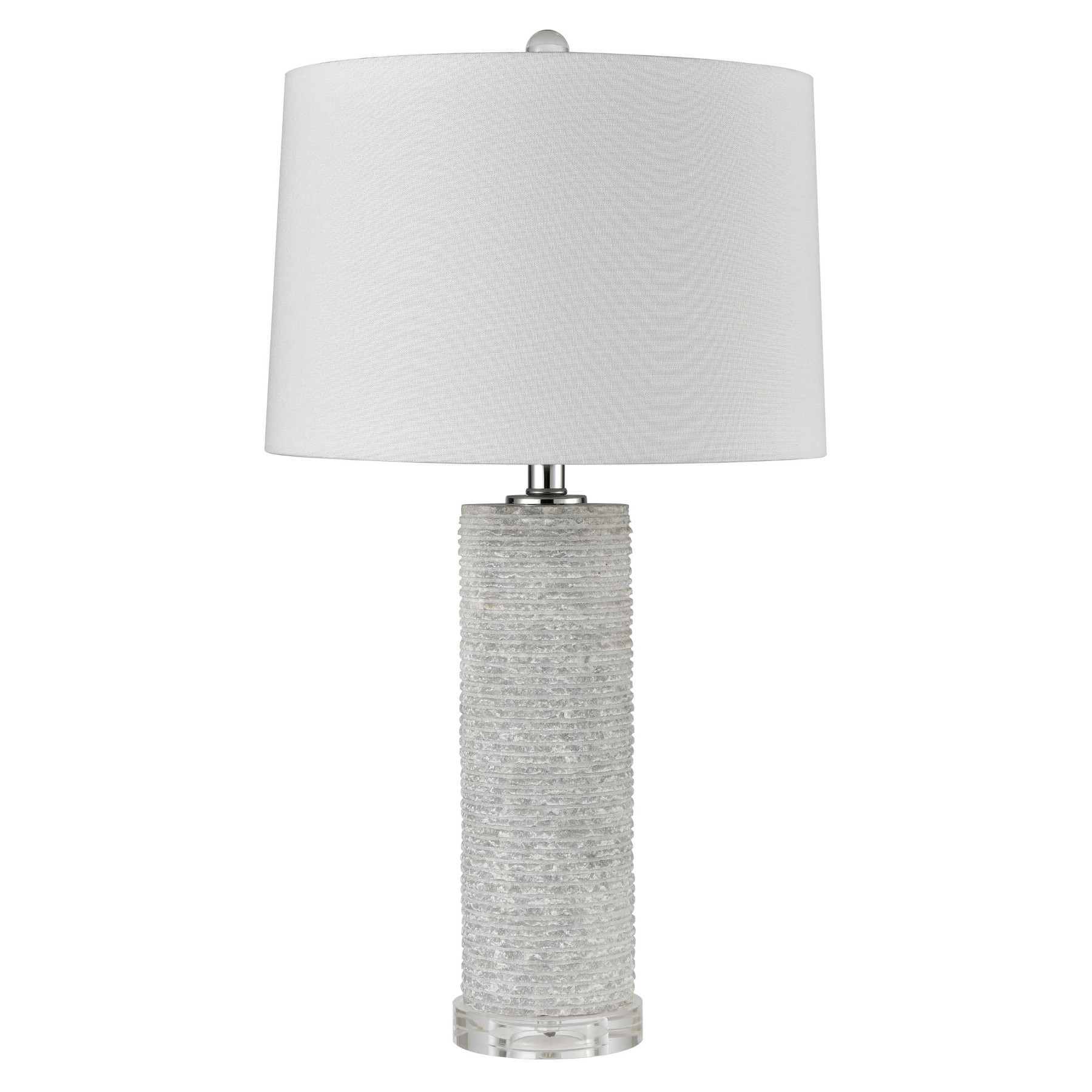 Bree Raw Marble Base Table Lamp