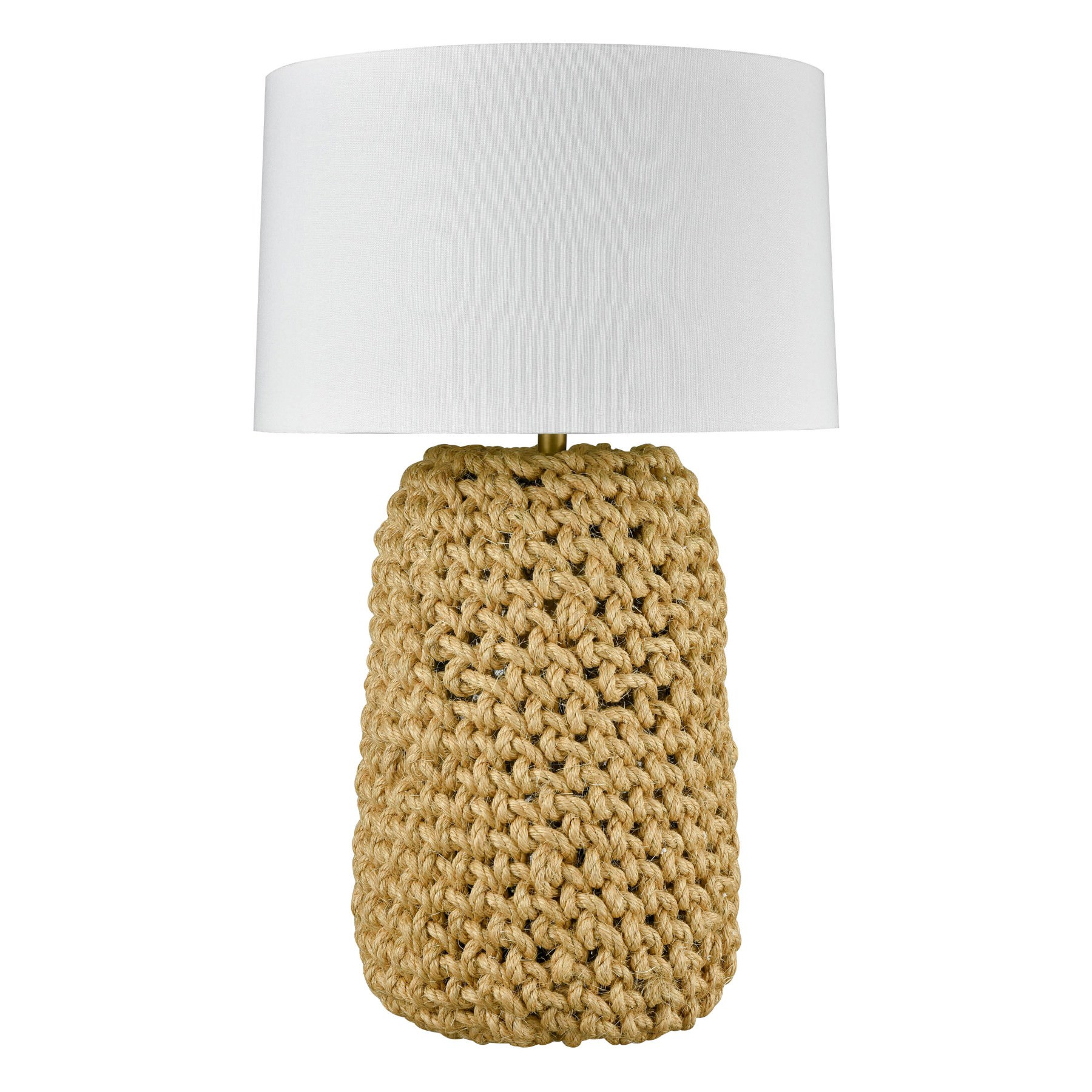 Ioana Knotted Rope Base Table Lamp, Large