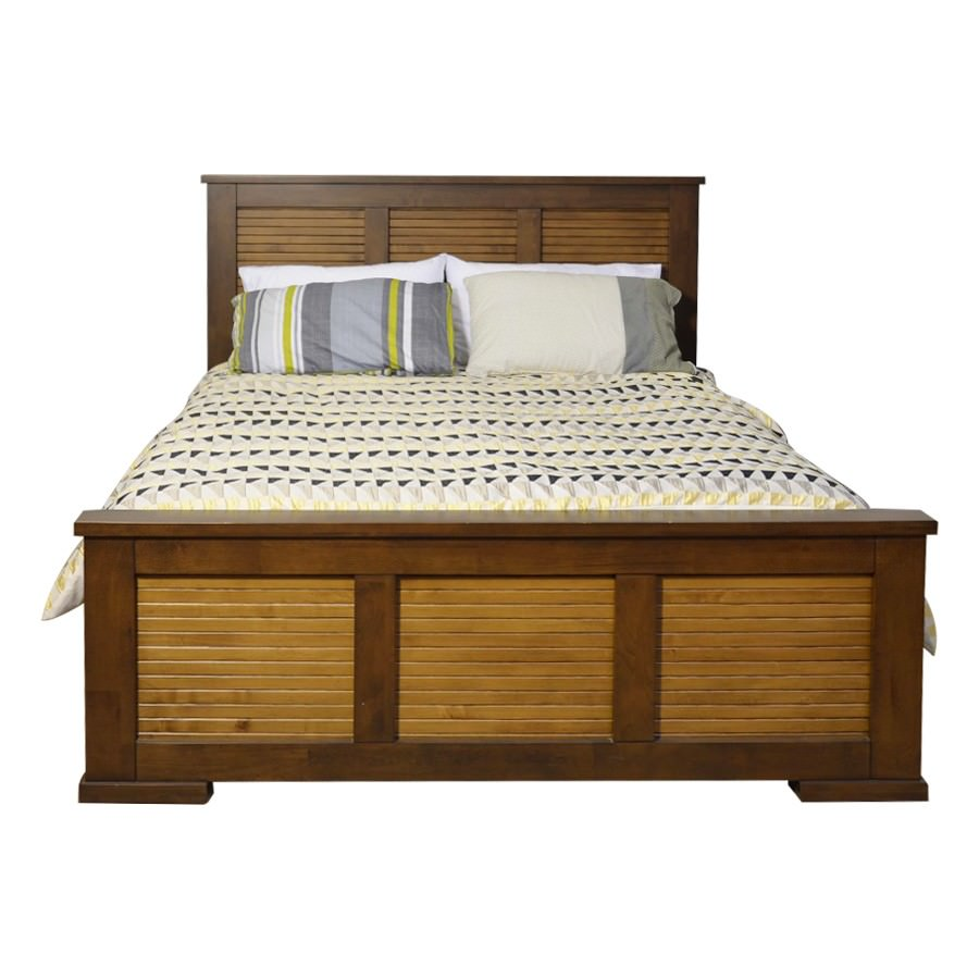 Ansley Mountain Ash Timber Bed, Queen