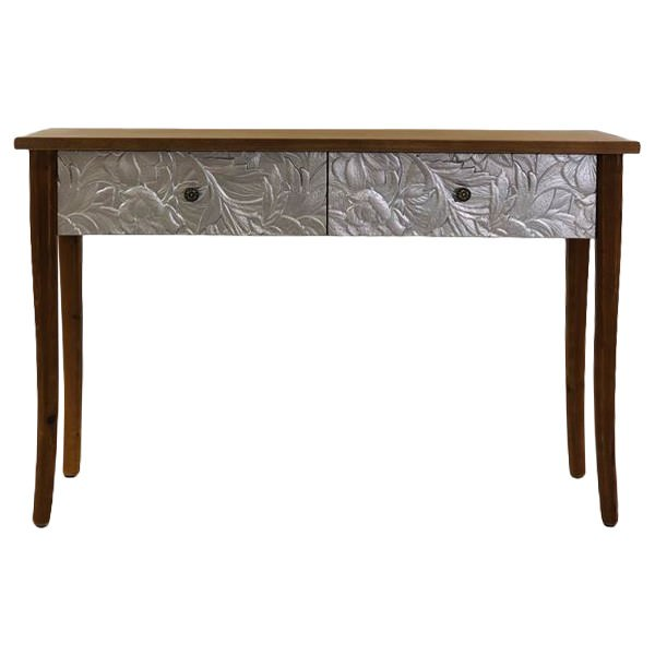 Eddy Timber Console Table, 120cm, Brown