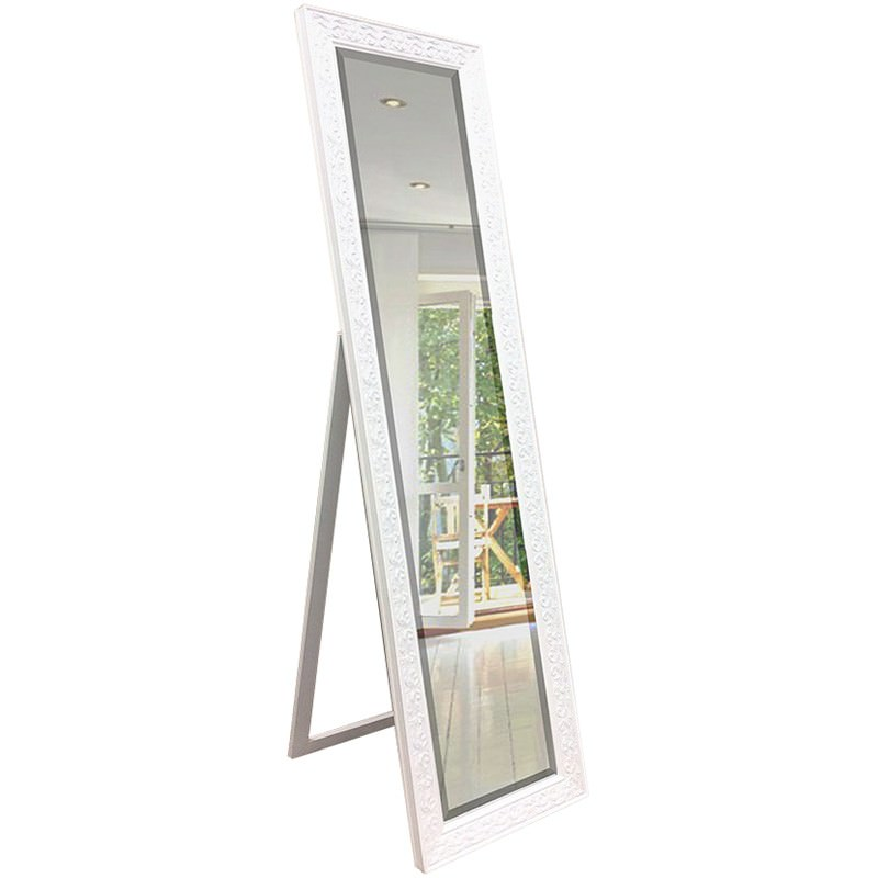Roan Cheval Mirror, 160cm, White