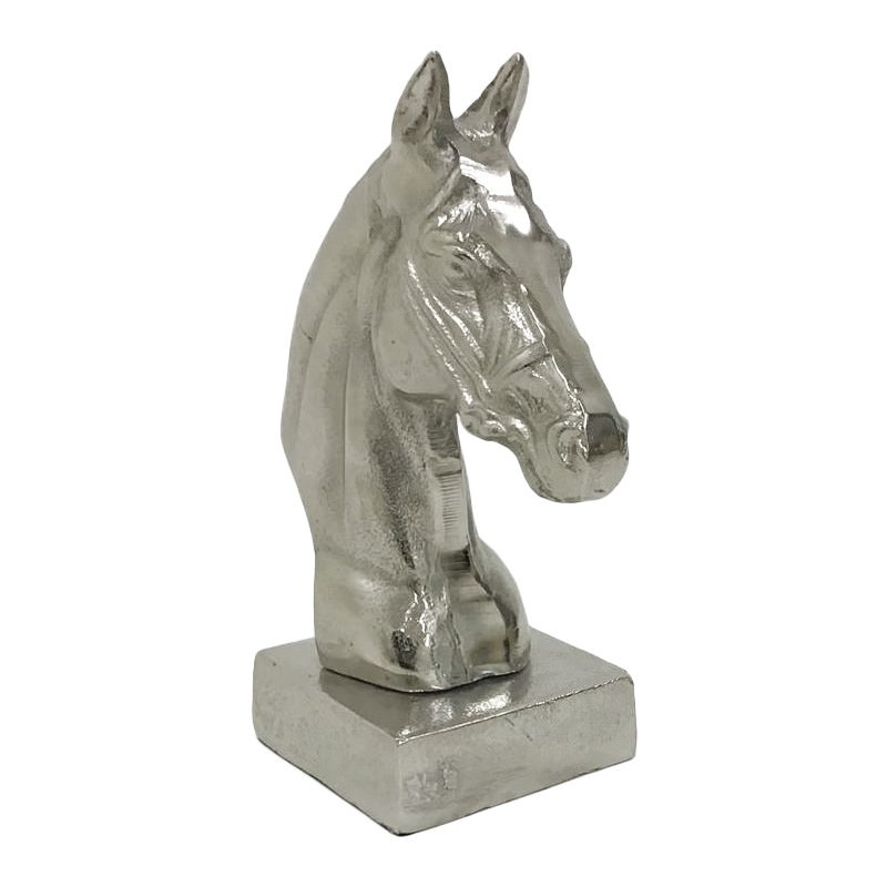 Bondi Aluminium Horse Head Bookend