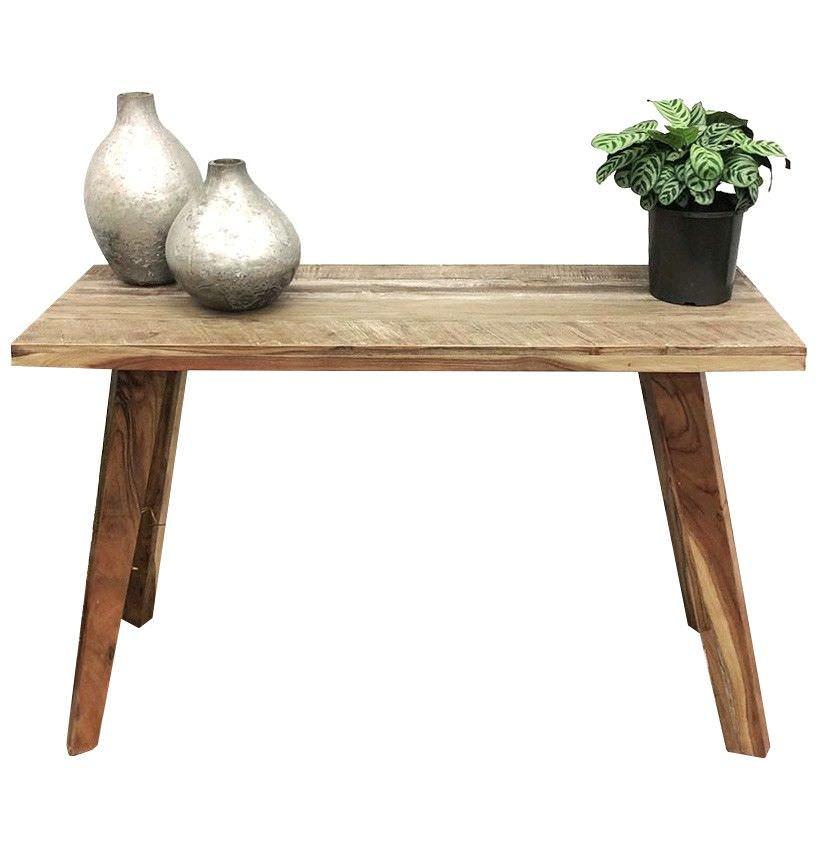 Abby Acacia Timber Console Table, 120cm