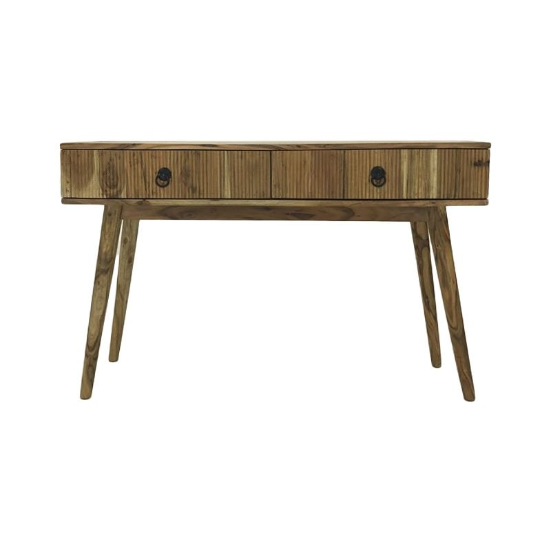Michael Acacia Timber Console Table, 118cm