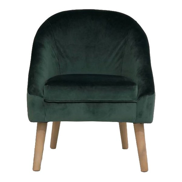 Grant Fabric Armchair, Green