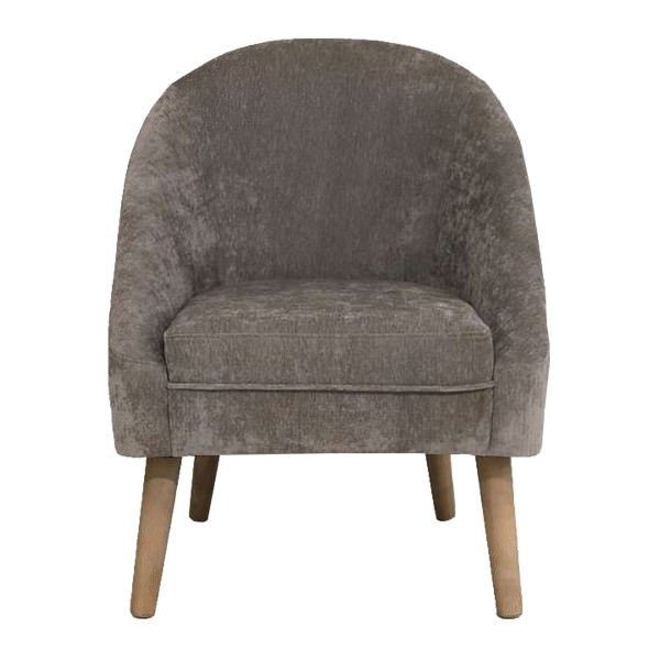 Grant Fabric Armchair, Taupe