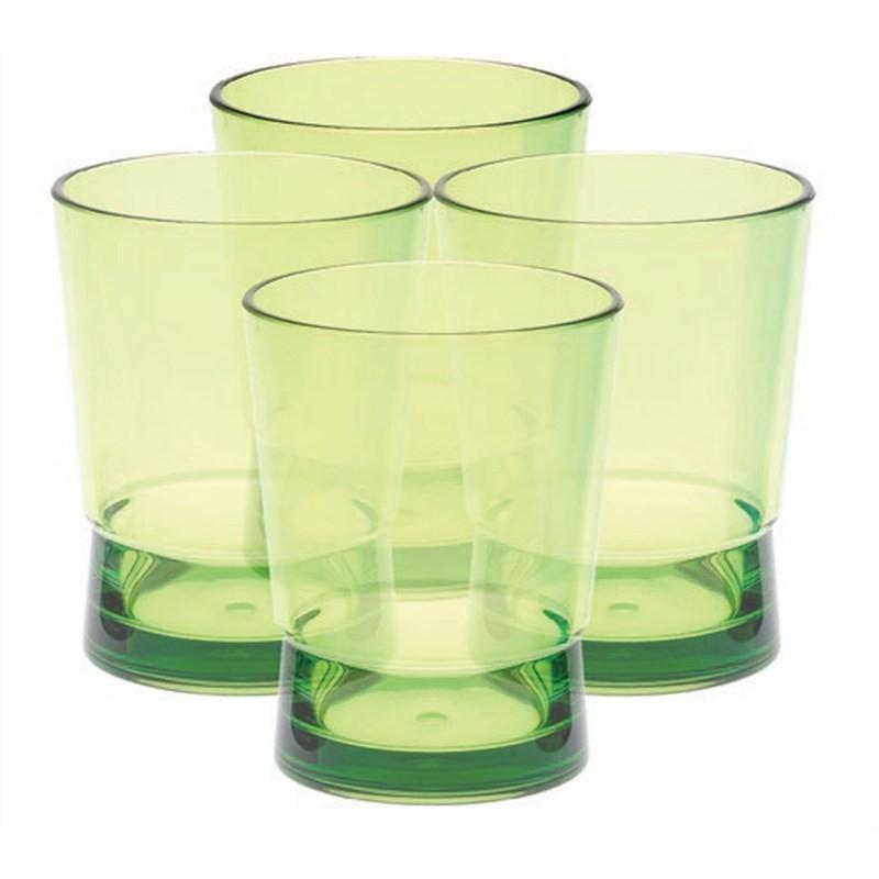 Acrylic Short Tumbler - Green