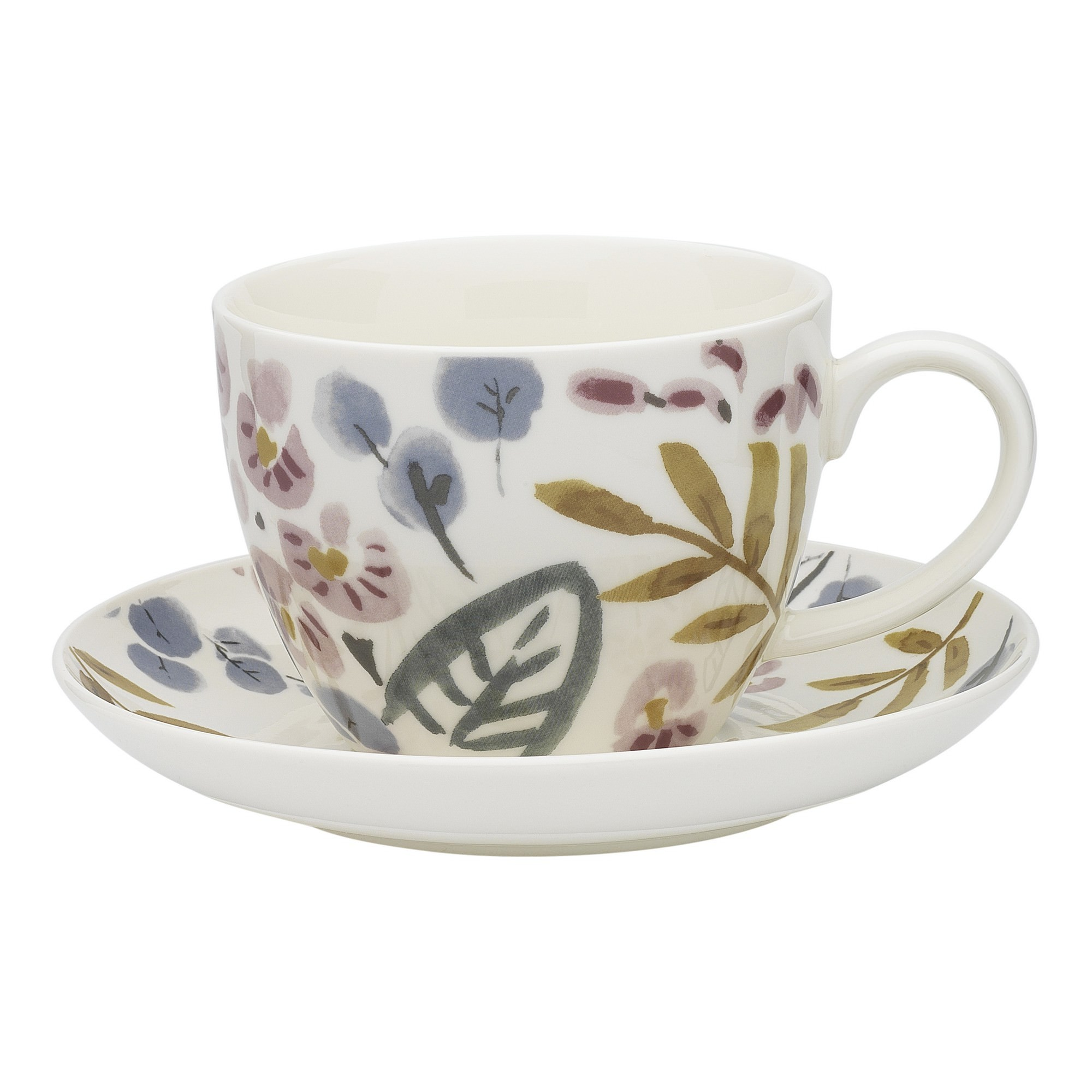 Ecology Frida New Bone China Cup & Saucer Set