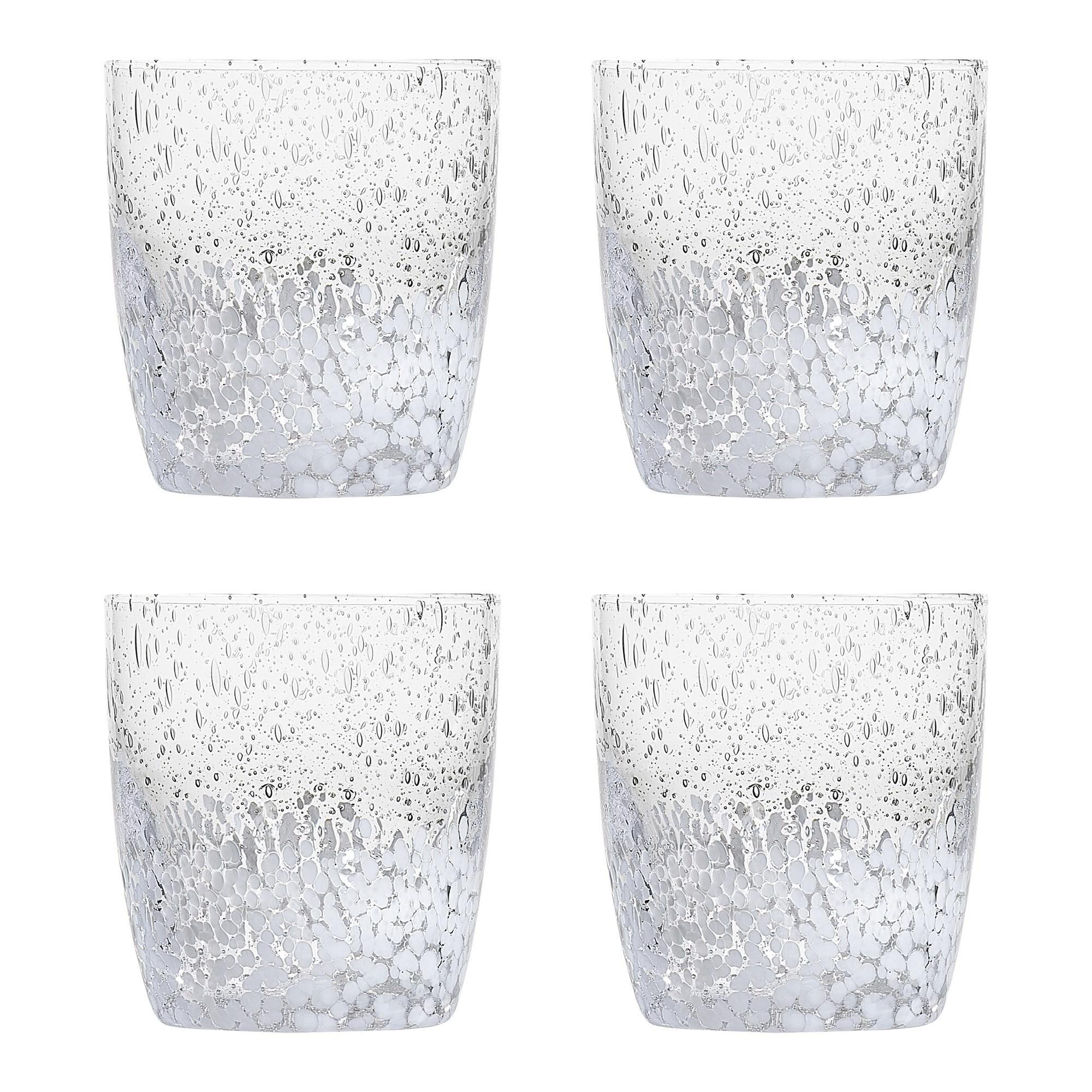 Ecology Pollock Glass Tumbler, Set of 4