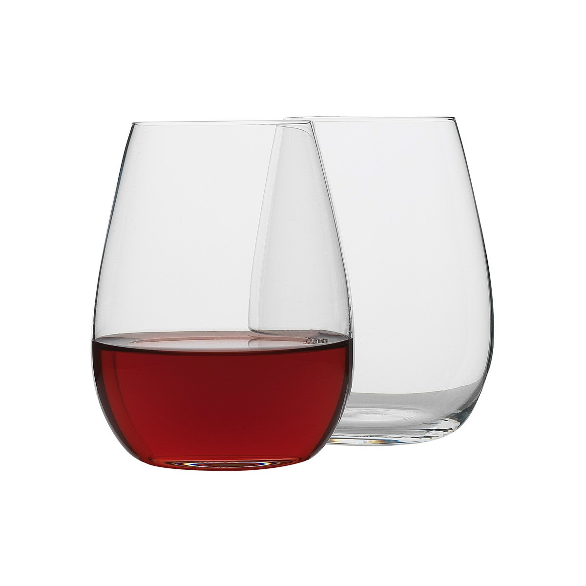 Ecology Otto Stemless Wine Glass, Set of 8