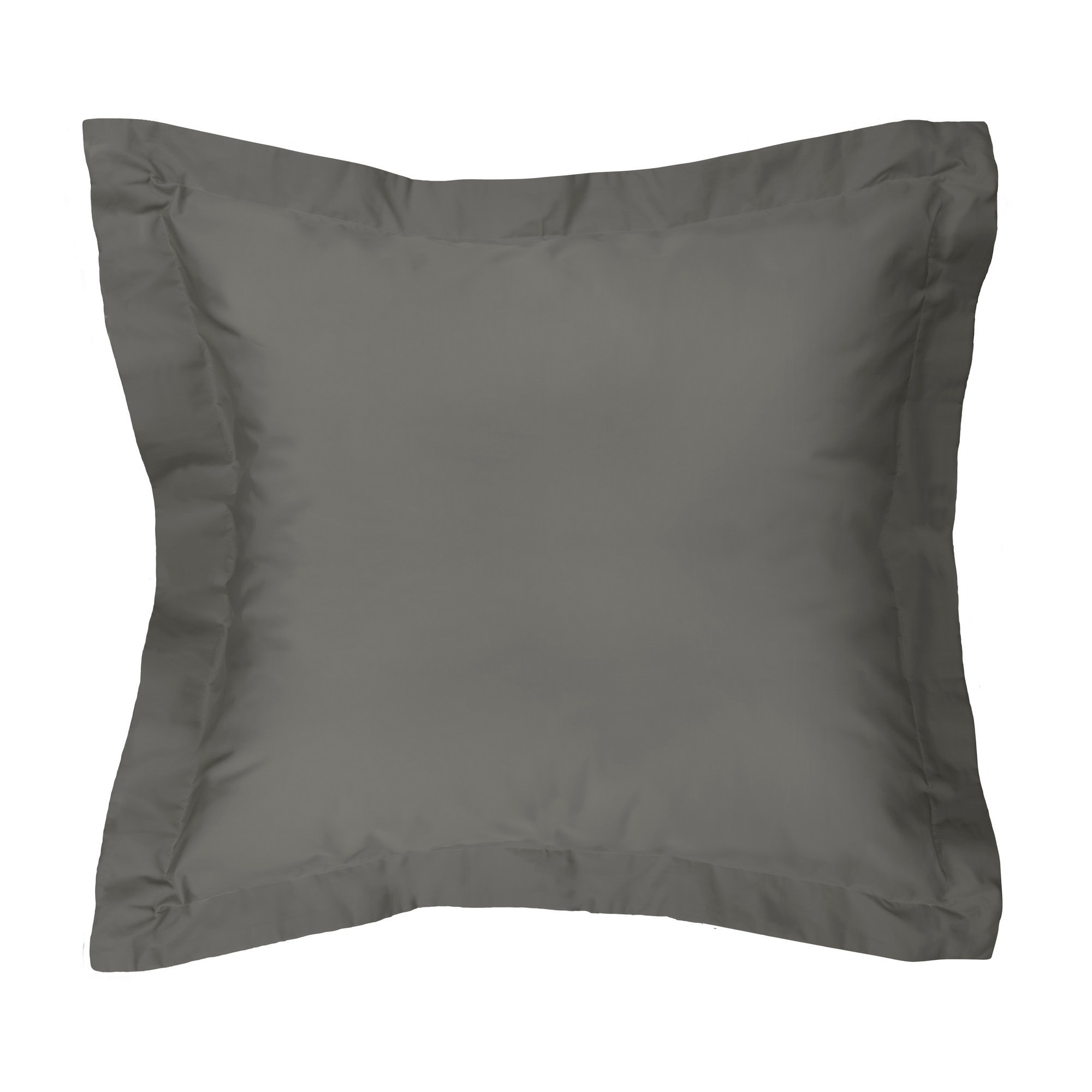 Moni Cotton Euro Pillowcase, Charcoal