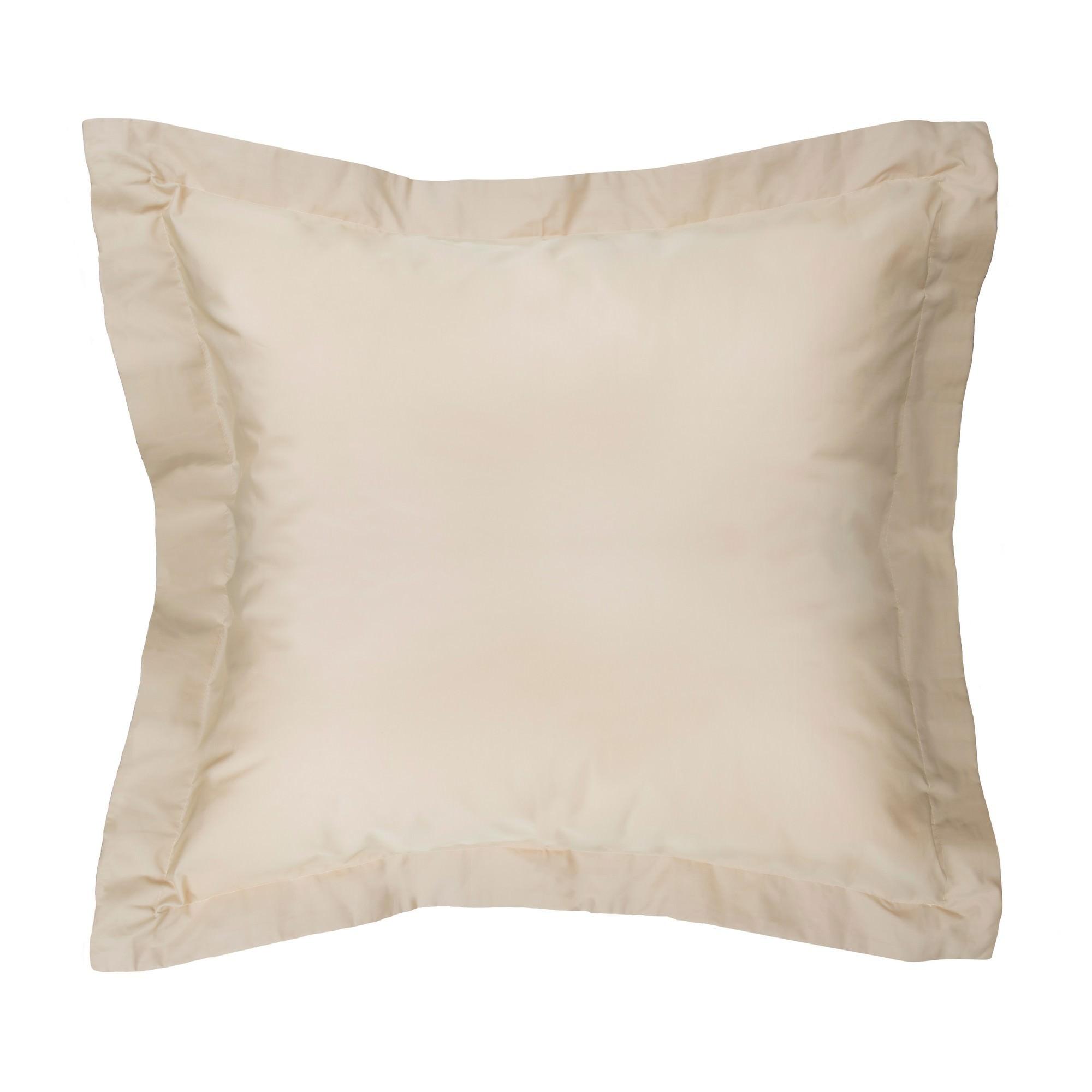 Moni Cotton Euro Pillowcase, Cream