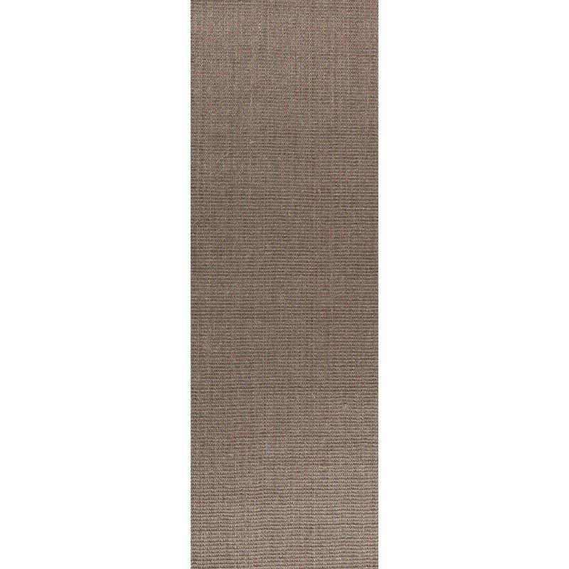 ECO Boucle 80x300cm Natural Sisal Runner Rug - Grey