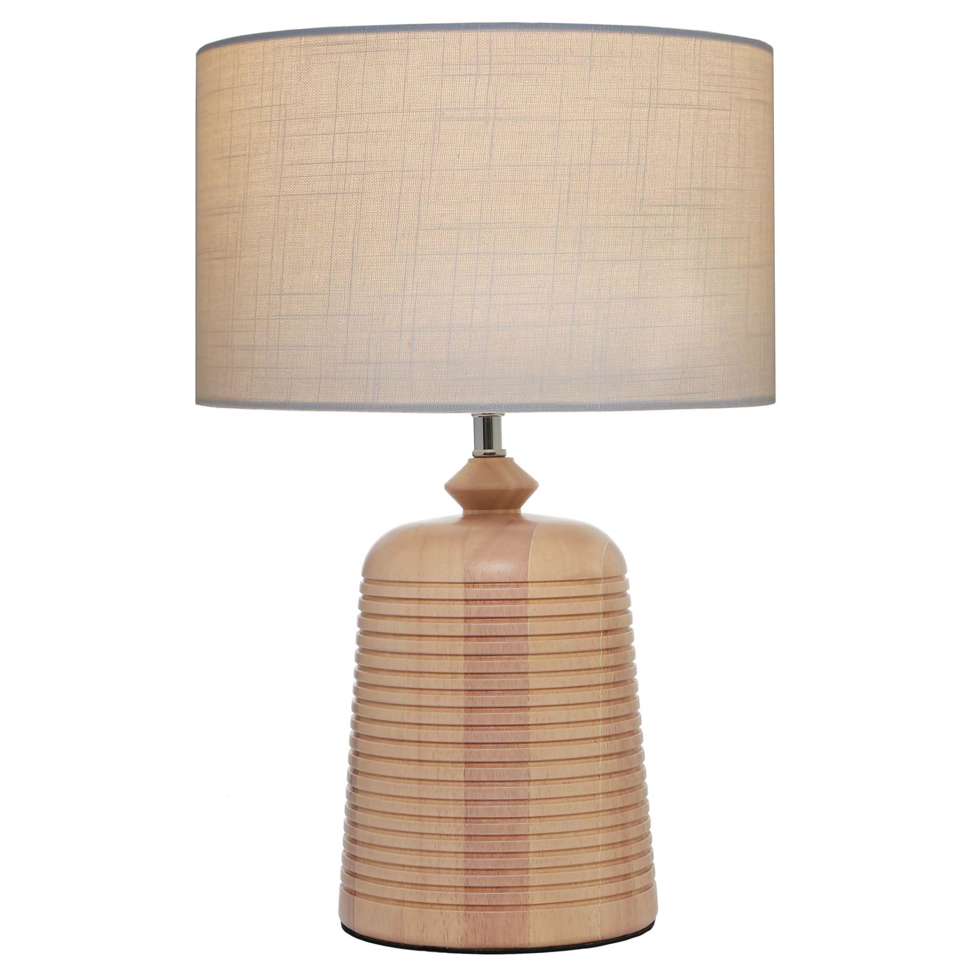 Eira Timber Base Table Lamp