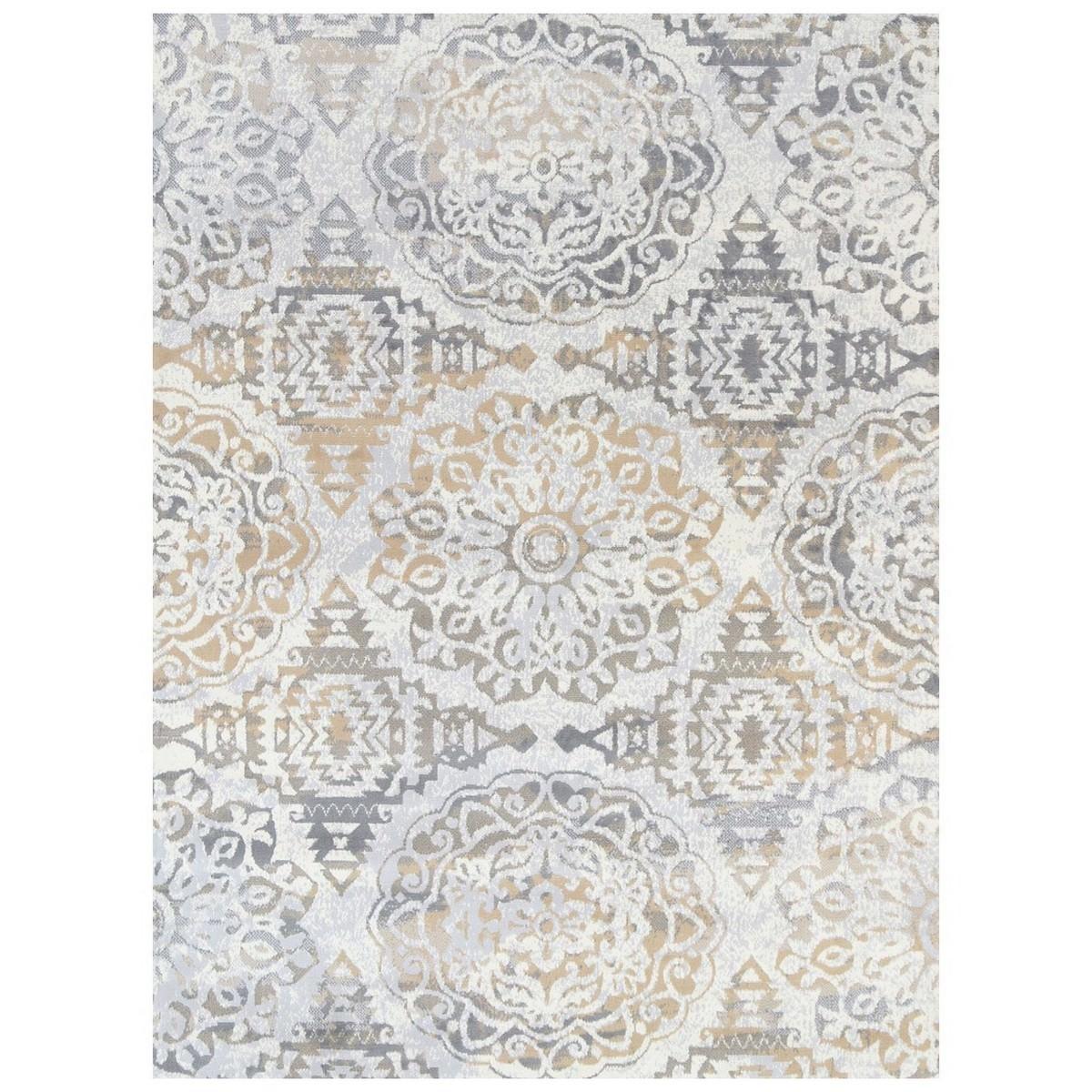 Allure Dilara Oriental Rug, 240x330cm, Beige/Grey