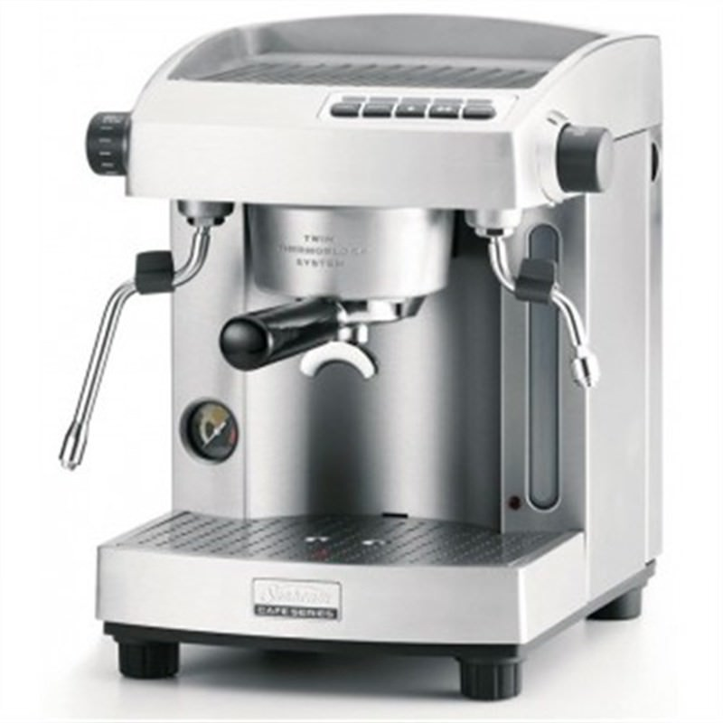 Sunbeam Cafe Series Twin Thermoblock Espresso Machine - Brushed EM6910