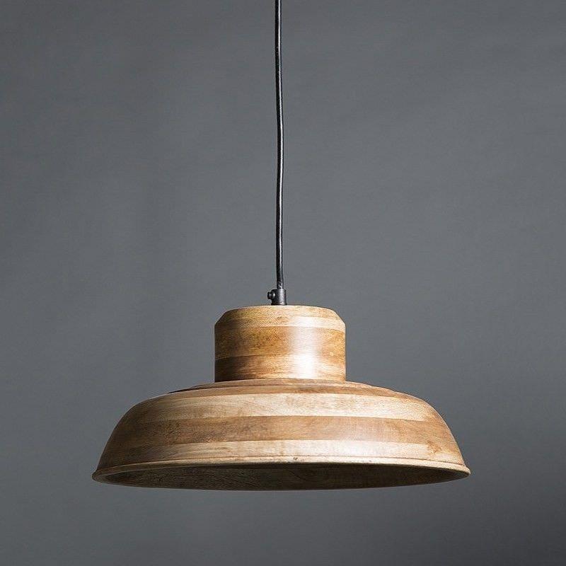 Circa Wooden Pendant Light