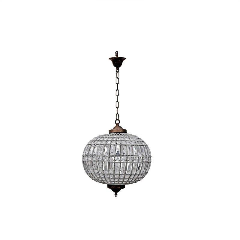 Palermo Italian Inspired Crystal Pendant Light - Medium