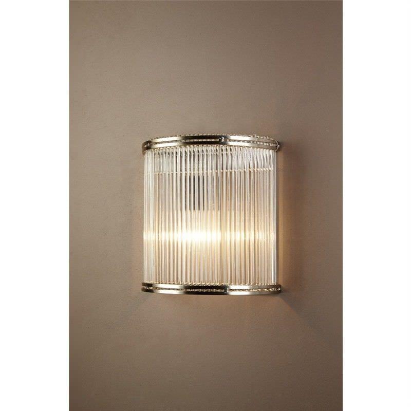 Verre Half Round Glass Wall Light