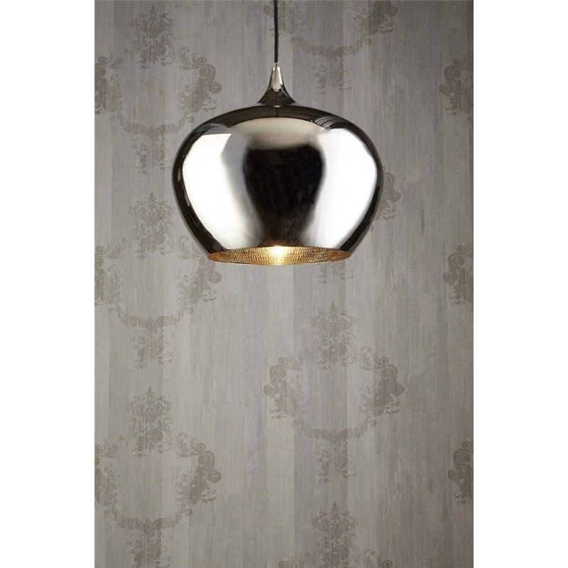Licqeour Metal Pendant Light - Silver