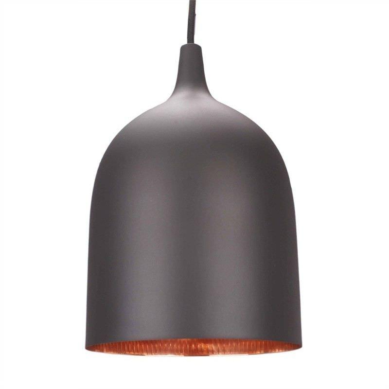 Lumi-R Metal Pendant Light - Black/Copper