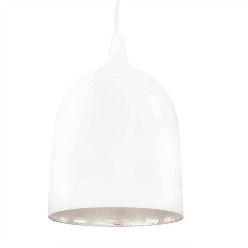 Lumi-R Metal Pendant Light - White/Silver
