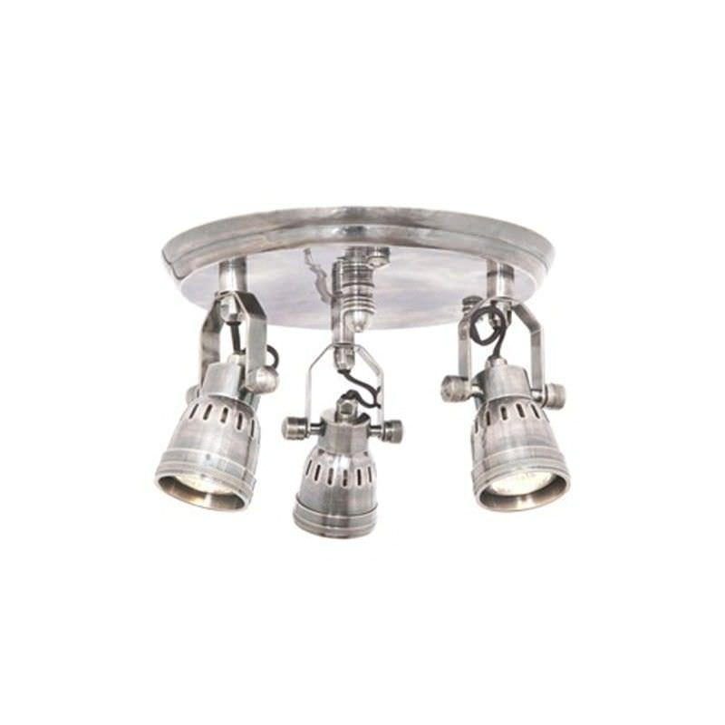 Seatle Batten Fix 3 Head Metal Spotlight