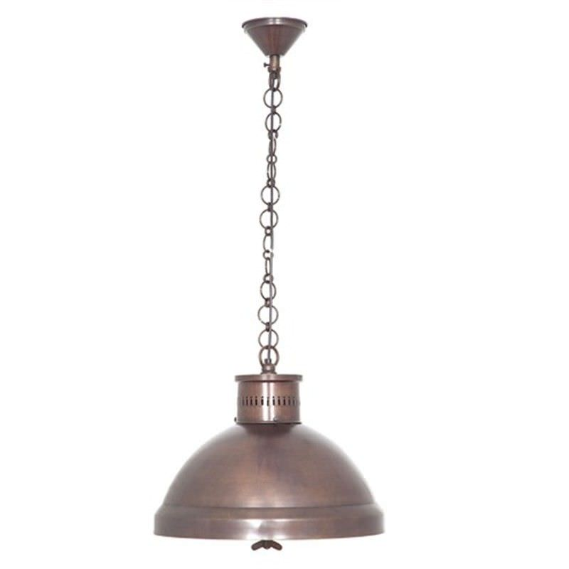 Madison Metal Pendant Light - Copper