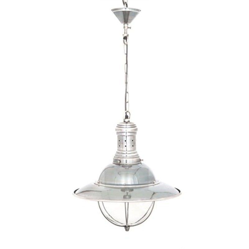 Harrison Metal Pendant Light - Silver