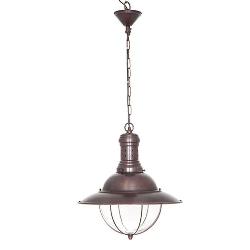 Harrison Metal Pendant Light - Copper