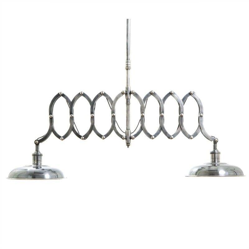Brentwood Double Scissors Metal Pendant Light