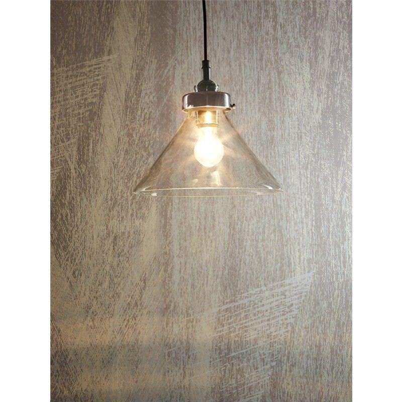 Franklin Glass Pendant Light